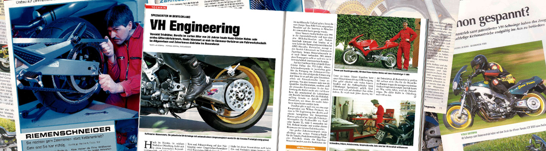 VH Motorradtechnik Presseberichte